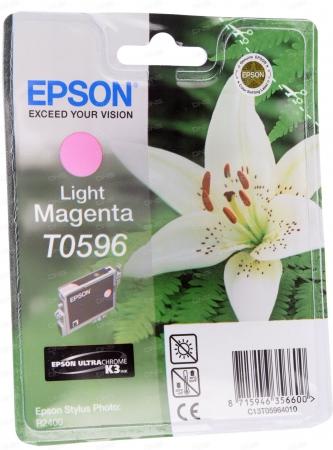 Картридж Epson T0596 (C13T05964010) светло-пурпурный оригинальный