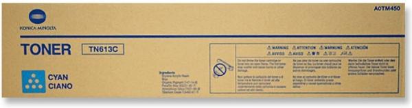 Тонер-картридж Konica Minolta TN-613C голубой оригинальный