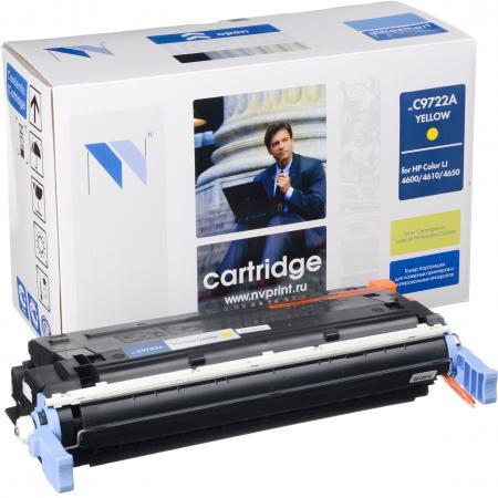 Картридж совместимый NV Print C9722A желтый для HP