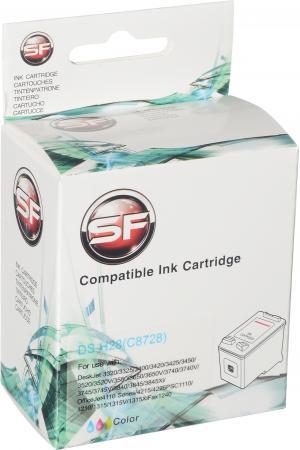Картридж совместимый SuperFine C8728 трехцветный для HP