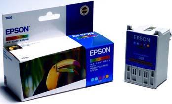 Картридж EPSON T009401 трехцветный оригинальный