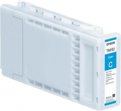 Картридж Epson T693200 (C13T693200) голубой оригинальный