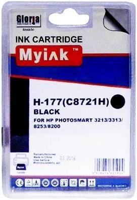 Картридж совместимый MyInk C8721H черный для HP