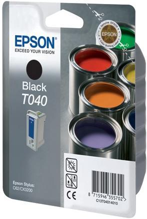 Картридж EPSON C13T04014010 черный оригинальный