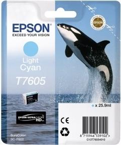 Картридж Epson C13T76054010 светло-голубой оригинальный