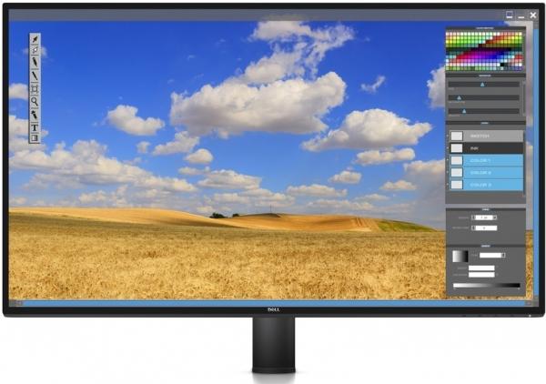 "Монитор 27"" Dell U2717DA Black с кронштейном"