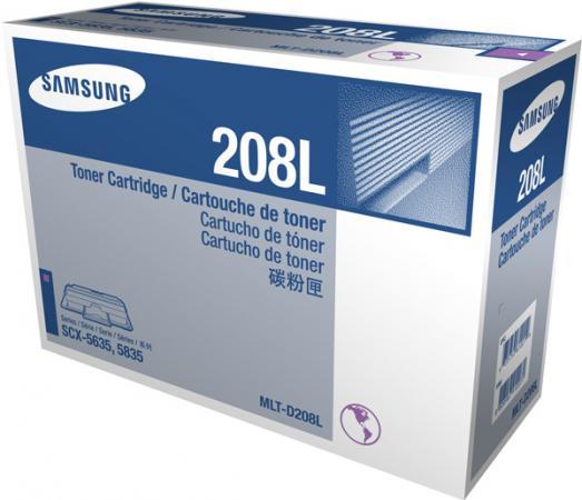 Картридж Samsung MLT-D208L черный оригинальный