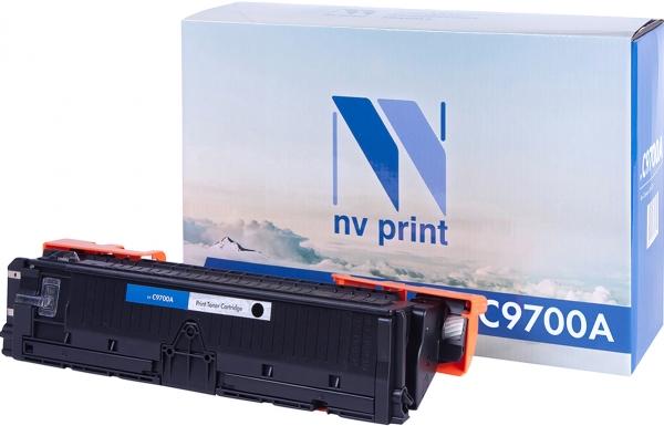 Картридж совместимый NVPrint C9700A для HP