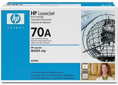 Картридж HP Q7570А черный оригинальный