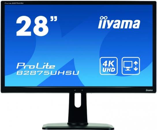 "Монитор 27"" iiYama B2875UHSU-B1 Black"