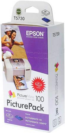 Картридж EPSON T573040 четырехцветный оригинальный