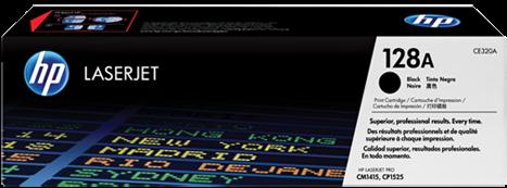 Картридж HP CE320A черный совместимый UNITON Eco