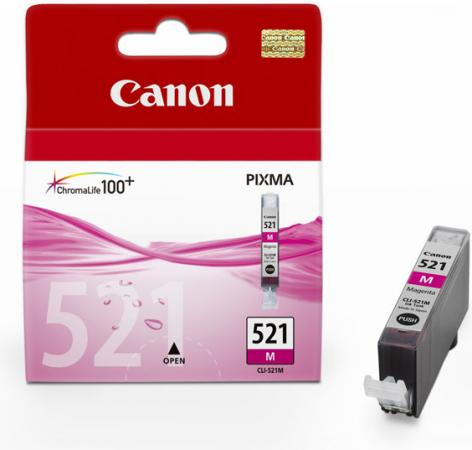 Картридж Canon 521 М красный совместимый