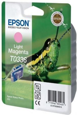 Картридж EPSON T033640 светло-пурпурный оригинальный
