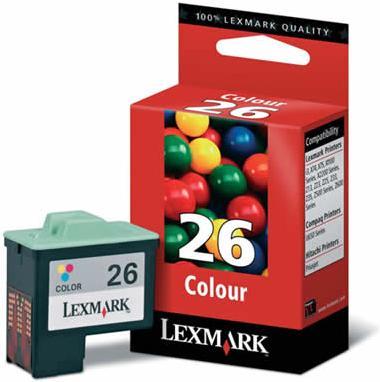 Картридж Lexmark 10N0026E трехцветный оригинал