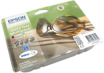 Картридж EPSON T04324010 четырехцветный оригинальный
