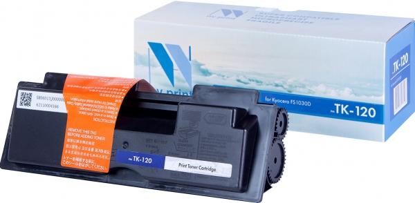 Картридж совместимый NVPrint TK-120 для Kyocera