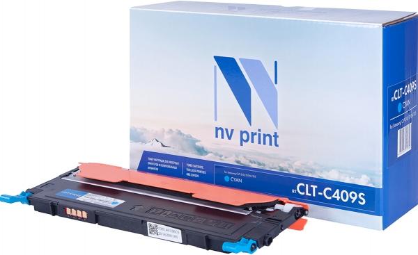 Картридж совместимый NV Print CLT-C409S голубой для Samsung