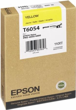Картридж EPSON C13T605400 желтый оригинальный
