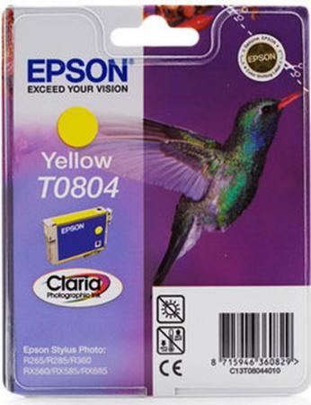 Картридж EPSON T08044010 желтый оригинальный