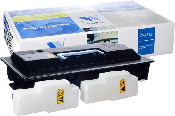 Картридж совместимый NV Print TK-715 для Kyocera