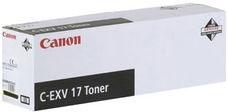 Тонер-картридж Canon C-EXV 17 черный оригинальный