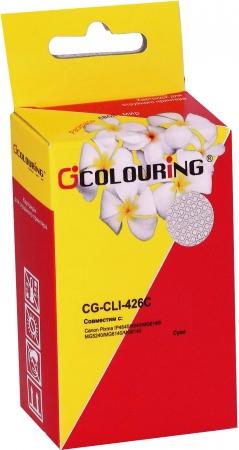 Картридж совместимый Colouring CLI-426C для Canon голубой с чипом