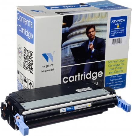 Картридж HP Q5952A желтый совместимый NV Print