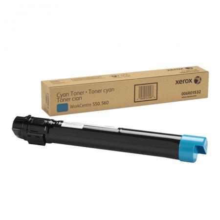 Тонер-Картридж XEROX 006R01532 голубой оригинальный