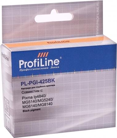 Картридж совместимый ProfiLine PGI-425PGBK для Canon с чипом