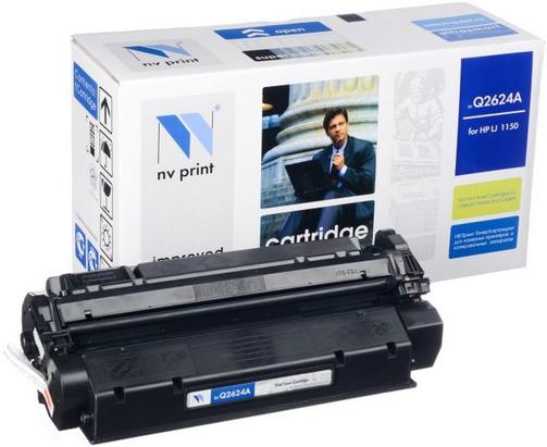 Картридж совместимый NVP Q2624A черный для HP