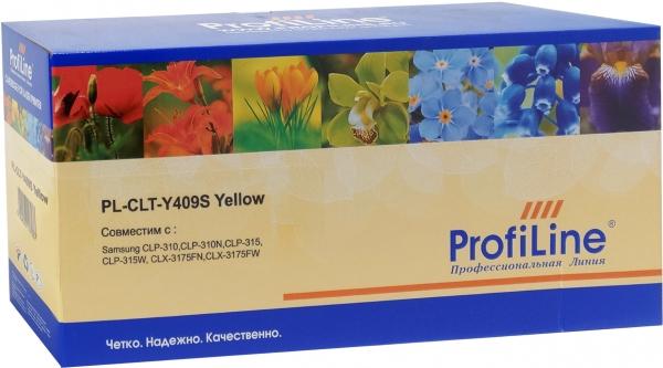 Картридж совместимый ProfiLine CLT-Y409S Yellow для Samsung