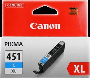 Картридж Canon Ink CLI-451XLC синий оригинальный