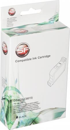 Картридж совместимый SuperFineC6615D черный для HP