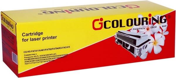 Тонер-туба совместимый Colouring KX-FAT411A/461/FAT92/FAT94/KX-FAC415 для Panasonic