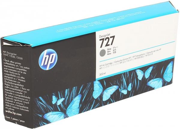 Картридж HP F9J80A №727 серый оригинальный
