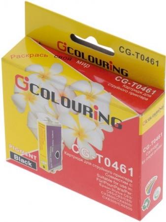 Картридж совместимый Colouring 046140 для Epson Black