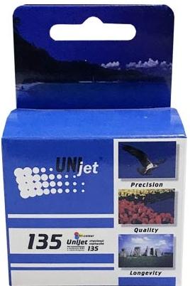 Картридж совместимый Unijet C8766 цветной (135) для HP