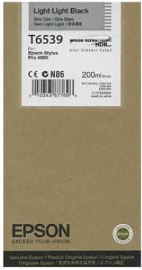 Картридж EPSON C13T653900 светло серый оригинальный