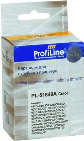Картридж совместимый ProfiLine 51649A №49 для HP color