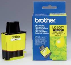 Картридж Brother LC900Y желтый совместимый Ink Cartridge