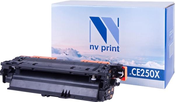 Картридж совместимый NV Print CE250X черный для HP