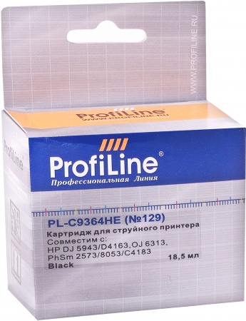 Картридж совместимый ProfiLine C9364HE №129 для HP