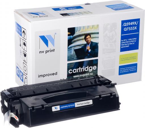 Картридж HP Q5949X/Q7553X совместимый NV Print