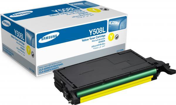 Картридж Samsung CLT-Y508L совместимый NV Print