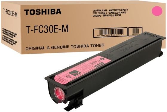Картридж Toshiba T-FC30EM (6AJ00000097) красный оригинальный