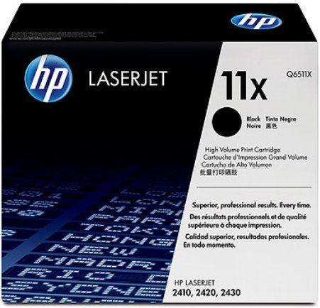 Картридж HP Q6511X черный оригинальный