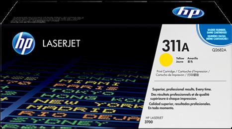Картридж HP Q2682А желтый оригинальный