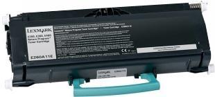 Картридж Lexmark E260A11E черный оригинальный