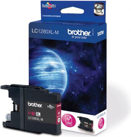 Картридж Brother LC1280XLM пурпурный оригинальный